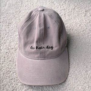 Embroidered indie hat cap